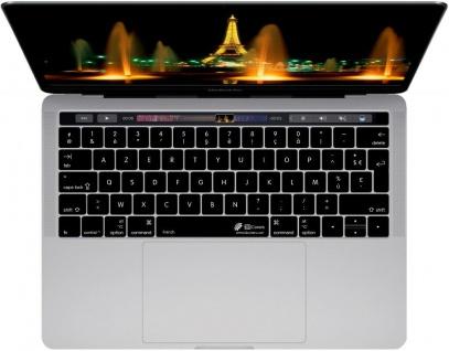 Tastatur-Abdeckung Skin Cover Deutsch auf Französisches Layout für MacBook Pro