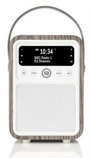 VQ Retro Digital-Radio Monty DAB DAB+ FM Bluetooth Weckfunktion AUX Wecker