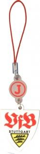 J-Straps VfB Stuttgart Logo Handy-Schmuck Schlüssel-Anhänger für Smartphone MP3