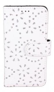 Patona Slim Flip-Case Book-style Klapp-Etui Schutz-Hülle für Samsung Galaxy S6