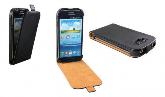 Patona Slim Flip Klapp-Tasche Schutz-Hülle Cover für Samsung I9080 Galaxy Grand