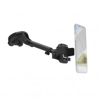 Hama Universal Kugelgelenkhalterung Windschutzscheibe für Smartphones 5, 5-8, 5cm