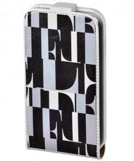 ELLE Flip-Tasche Cover Schutz-Hülle Schale Wallet Tasche für Apple iPhone 4S 4