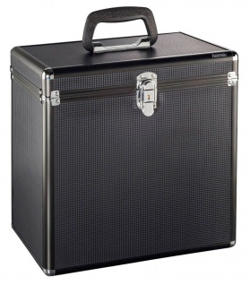 Hama LP-Koffer Tasche Hülle PA DJ Platten-Case Box 50x Schall-Platte Maxi Vinyl - Vorschau 2