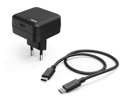 Hama Schnell-Ladegerät USB-C Power Delivery PD Netzteil Netz-Lader USB C Kabel