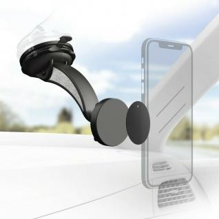 Hama Universal Magnet-Halterung Auto Windschutzscheibe Saugnapf für Smartphones
