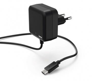 Hama Schnell-Ladegerät USB-C Power Delivery PD Netzteil Netz-Lader USB C-Kabel