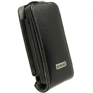 Krusell Orbit Flex Case Clip Leder-Tasche für Nokia C6 C6-00 Etui Flap Bag Hülle