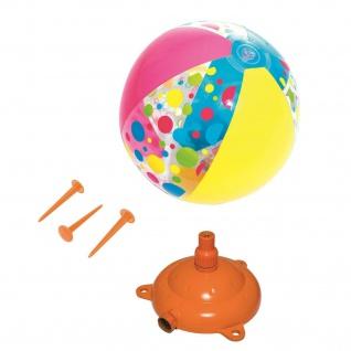 Bestway Wasser-Sprinkler Hover + Spray Rasen-Sprenger Wasser-Spaß Spielzeug Ball