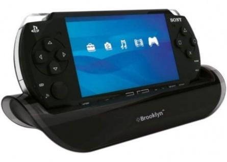 2in1 Docking-Station Ständer UMD Filme schauen für Sony PSP Slim&Lite Konsole
