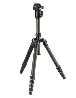 Hama Dreibein-Stativ Professional Premium Duo Carbon Kamera-Stativ Foto-Stativ
