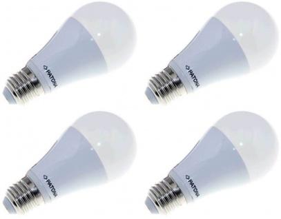 4x Patona LED Birne E27 12W 75W Warm-Weiß 3000K LED-Lampe Glühbirne Leuchtmittel