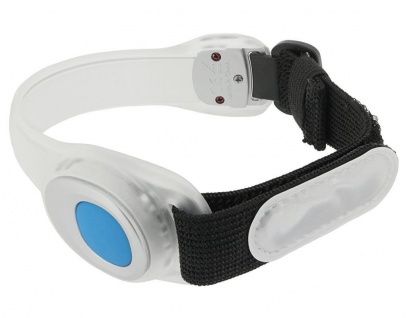 Runtastic LED-Licht Leucht-Armband Sport Reflektor LED Band Sicherheits-Armband