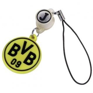 J-Straps Handy-Anhänger BVB Wappen Borussia Dortmund Handy-Schmuck Smartphone