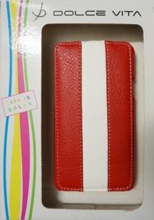 DOLCE VITA Flip Handy-Tasche für Samsung Galaxy S2 SII i9100 Etui Klapp-Tasche