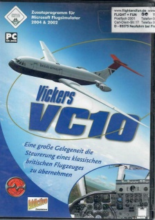 Vickers VC10 - Zusatzprogramm für MS Flugsimulator 2004 & 2002 Militär-Flugzeug