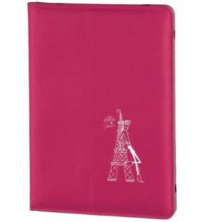 """ELLE Paris Cover Tasche Schutz-Hülle Case Etui für Tablet PC Tab 10"""" 10, 1"""" Zoll"""