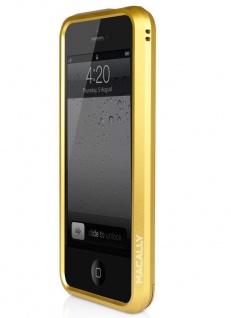 macally Aluminium Frame gold Cover Alu-Rahmen Hülle Bag für Apple iPhone SE 5S 5 - Vorschau 2