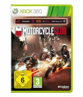 Bigben Motorcycle Club Motorrad-Spiel Renn-Spiel für Microsoft XBox 360