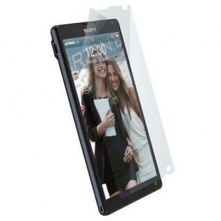 Krusell Display Schutz Folie Schutzfolie für Sony XPERIA ZL Screen Protector