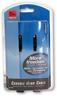 Speedlink iLink Firewire-Kabel Link-Kabel 2x Konsole für Sony PS2 Playstation 2