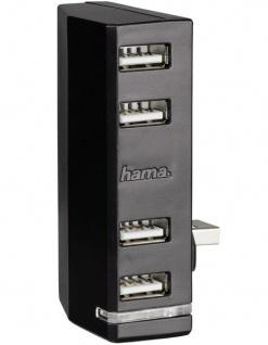 Hama 4-Fach USB Hub LED Modul USB 4x Port Adapter für Microsoft Xbox ONE Konsole