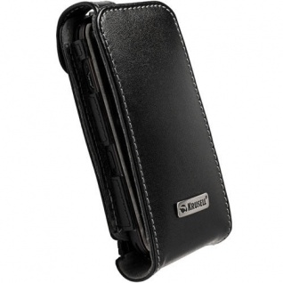 Krusell Orbit Flex Case Clip Leder-Tasche für Nokia N97 Mini Etui Flap Bag Hülle