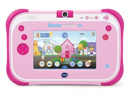 Vtech Storio Max 2.0 Interaktives Lern-Tablet 8GB Pink Spiel-Konsole Computer