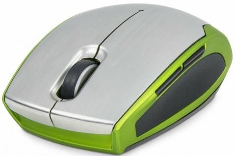 Speedlink FAVO Comfort Maus kabellos Mouse Bluetooth metallic-green BT Wireless