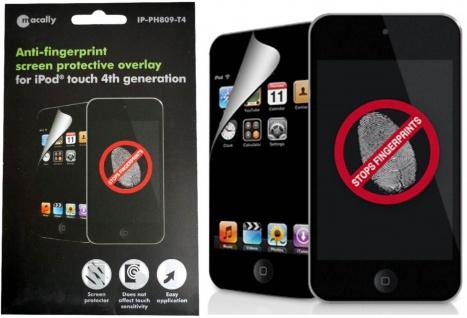 Macally Anti Fingerabdruck Display-Folie Schutz-Folie für Apple iPod Touch 4 4G