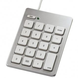 Hama USB Keypad Ziffern-Tastatur Nummern-Block Num-Pad für PC MAC iMac MacBook