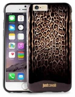 Just Cavalli Cover Hard-Case Tasche Schutz-Hülle Schale für Apple iPhone 6 6s