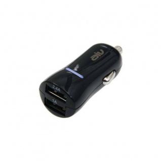 AIV Dual KFZ Lader 4, 2A USB Ladegerät 12V 24V Lade-Adapter für Handy iPhone etc