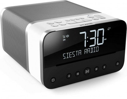Pure Siesta Home Digital-Radio Radio-Wecker Uhren-Radio DAB+ CD USB Bluetooth