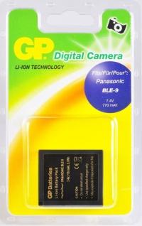 GP Li-Ion Akku für Panasonic DMW-BLE9 DMW-BLE9E Lumix GF3 S6 BLE-9 BLE-9E ...