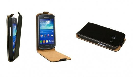 Patona Slim Flip Klapp-Tasche Schutz-Hülle für Samsung Galaxy G310 Ace Style