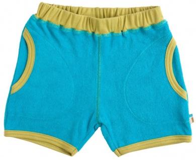 Tragwerk Short Hose Ben Frottee türkis Gr 56/62 Baby Junge Anzug Kurzehose weich