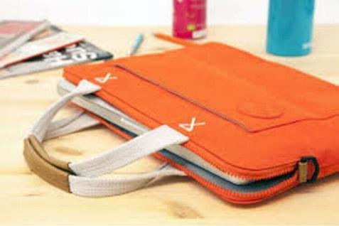"""Golla Slim Sleeve Orange Notebook-Tasche Case Schutz-Hülle 15, 4"""" 15, 6"""" 16"""" 16, 4 - Vorschau 2"""