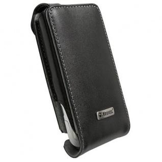 Krusell Flip Case Handy-Tasche + Clip für HTC Radar Etui Bag Hülle Klapp-Tasche