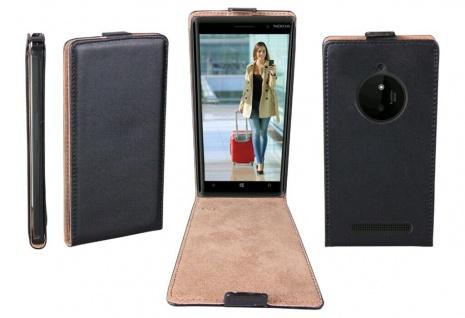 Patona Slim Flip-Cover Klapp-Tasche Schutz-Hülle Cover Case für Nokia Lumia 830