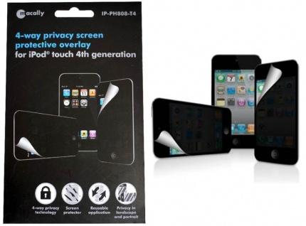 Macally Privacy Display-Schutzfolie Privat Folie für Apple iPod Touch 4 4G 4.