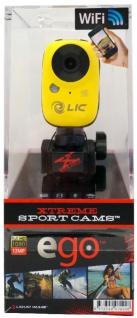 Liquid Image EGO WiFi Action-Cam Kamera Camcorder Helm Fahrrad MTB Motorrad Ski