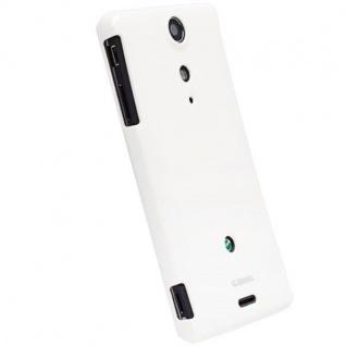 Krusell Cover weiß Tasche für Sony Xperia TX LT29i Bumper Schale Hülle Hard-Case