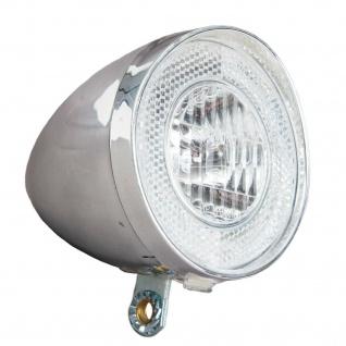 Profex Halogen Dynamo Scheinwerfer Retro Fahrrad-Licht Fahrrad-Lampe Beleuchtung