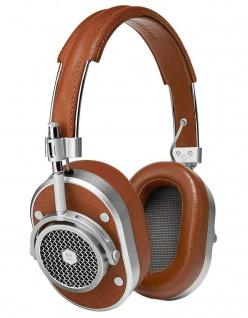 Master & Dynamic MH40 Brown Over-Ear Headset Kopfhörer Earphones 3, 5mm Klinke
