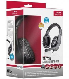 Speedlink Triton Over-Ear Gaming Headset 3, 5mm Klinke Kopfhörer + Bügel-Mikrofon - Vorschau 4