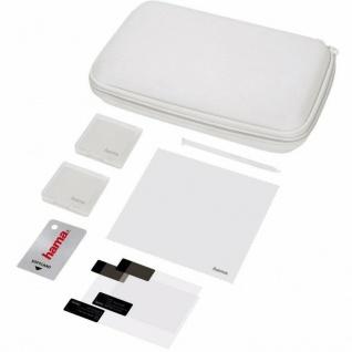 Hama PACK 8in1 Tasche Game-Case Hardcase Folie für Nintendo New 3DS N3DS Konsole