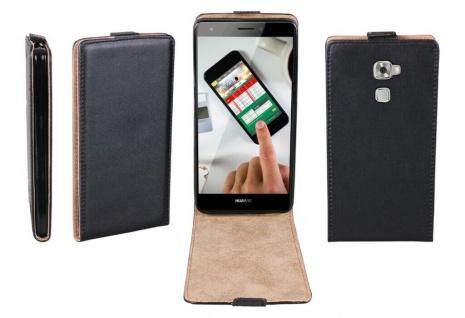 Patona Slim Flip-Cover Klapp-Tasche Schutz-Hülle Cover Case für Huawei Mate S