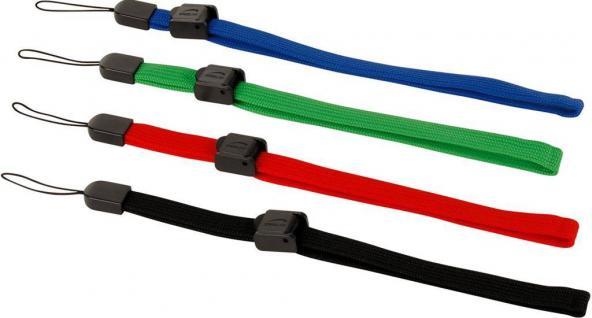 4x Hand-Schlaufen Strap Arm Band für Nintendo Wii Wii U WiiMote Controller Pad