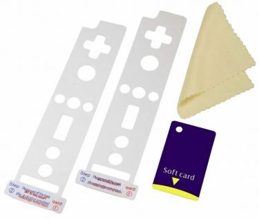 Hama Displayschutzfolie Folienset für Nintendo Wiimote Controller 4-tlg. Schutz